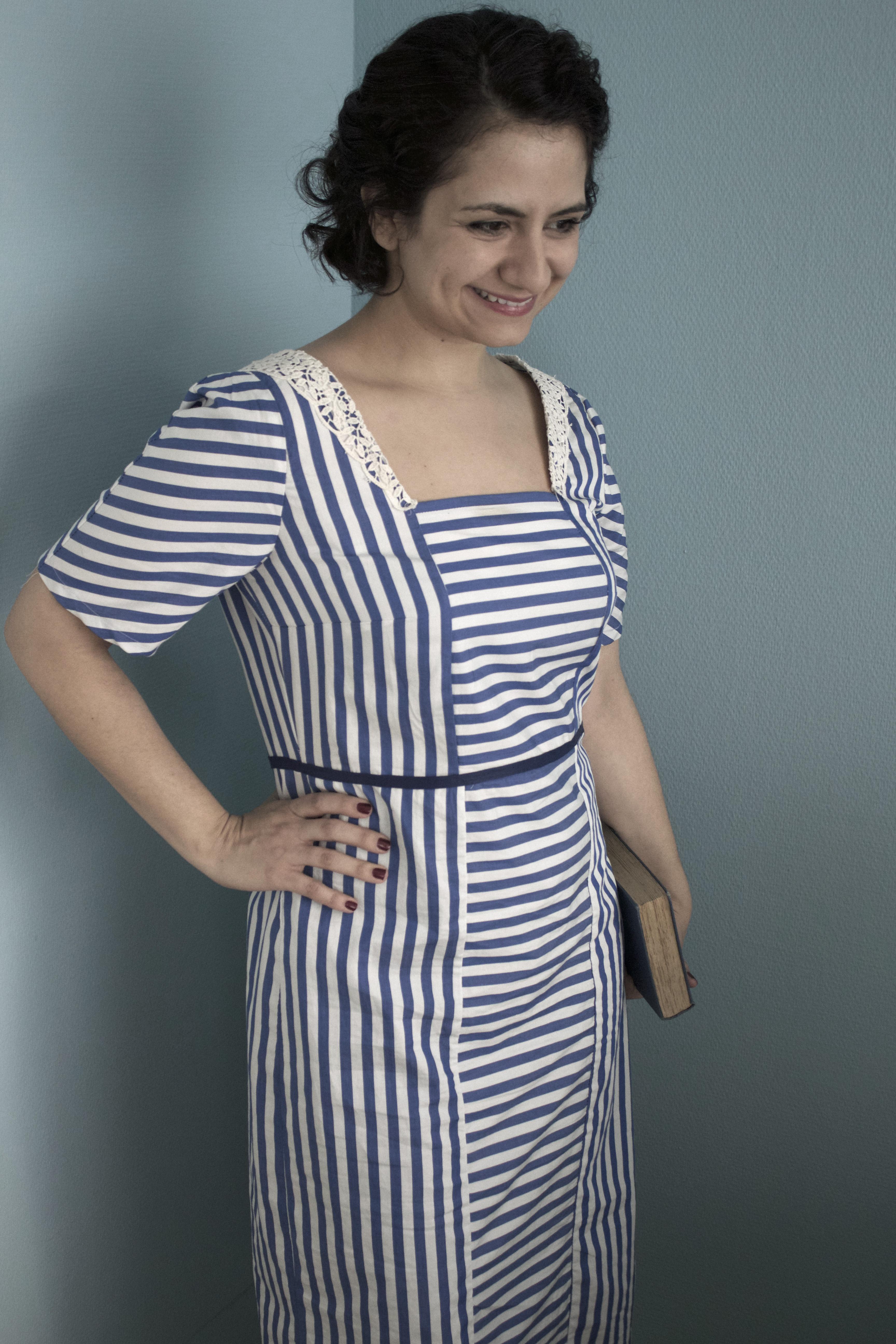 Handmade Liebling des Monats: Mein Lady Mary Dress