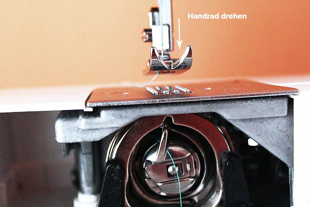 die kleine nähakademie basics  ober und unterfaden  ~ Nähmaschine Richtig Einfädeln