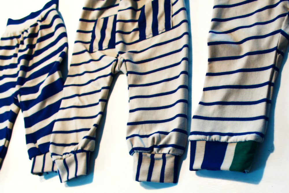 Pumphose Streifen Tweed and Greet