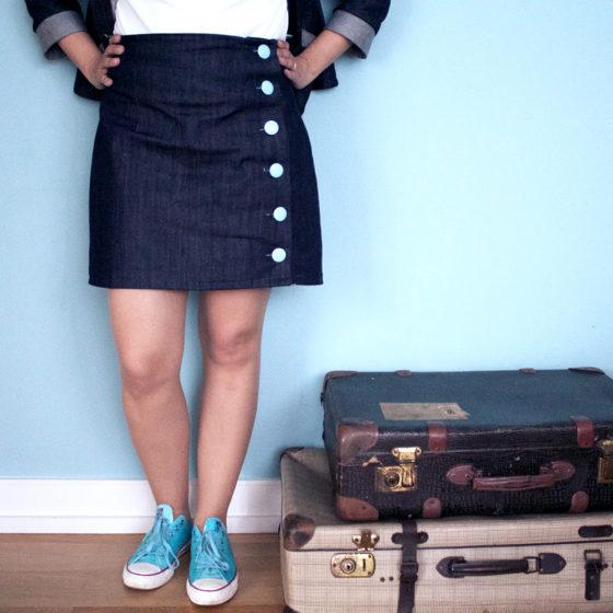 Skirt Arielle made by TweedandGreet