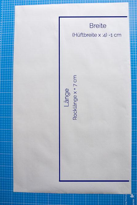 Bleistiftrock nähen mit kostenloser Anleitung gestreifter Bleistiftrock aus Jersey - Bleistiftrock Schnittmuster kostenlos - Tweed & Greet