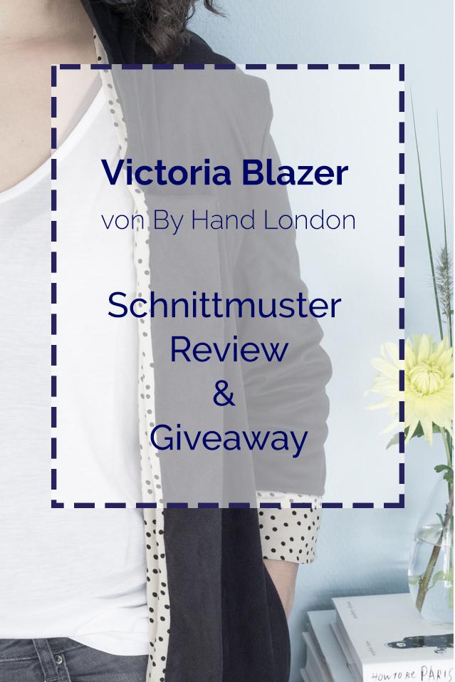Victoria Blazer - Schnittmuster Review und Giveaway