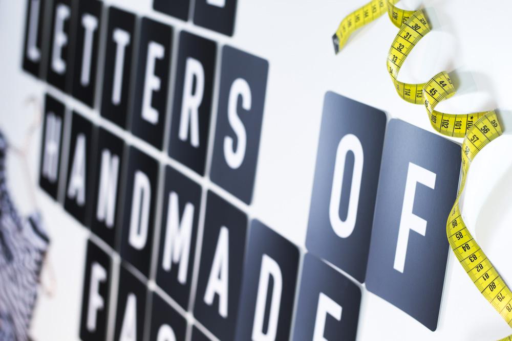12 Letters of Handmade Fashion Ankündigung