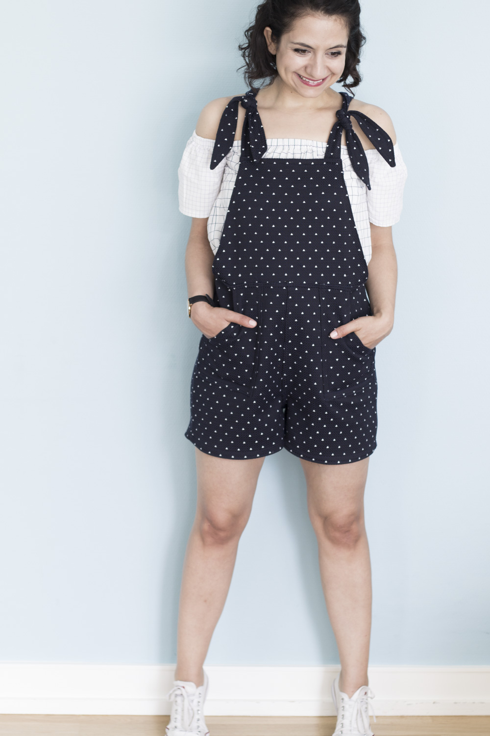 Turia Dungarees by Tweed & Greet