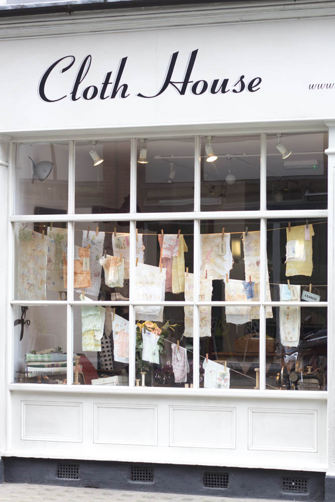 Stoffe kaufen in London - Cloth House