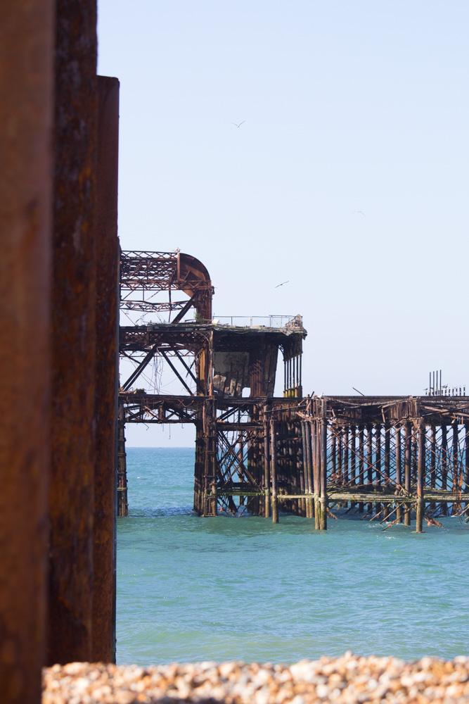 West Pier Brighton - Tweed & Greet