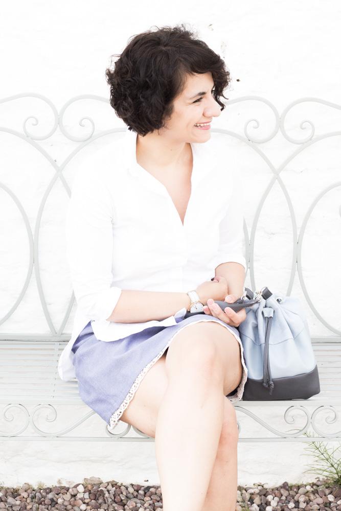Bucket Bag nähen - Schnittmuster und Schritt-für-Schritt-Anleitung