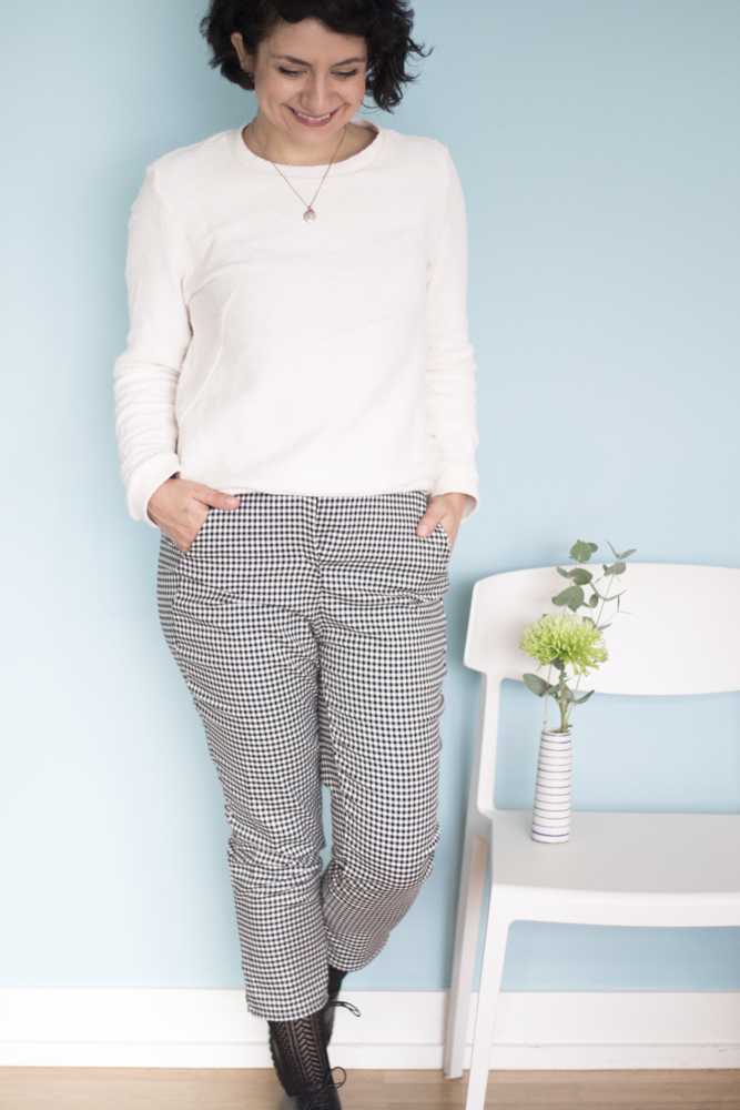 Zigarettenhose Tyyni von named clothing - Tweed & Greet