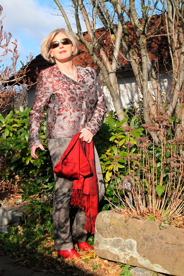 Luxusjäckchen aus Schurwolle und Seide - Seelenruhig