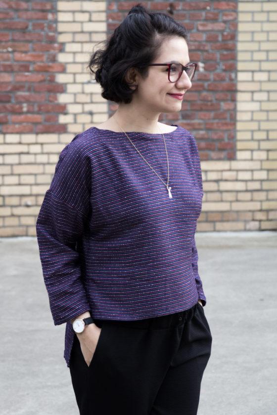 Patrones Oberteil aus Wolle - Tweed & Greet