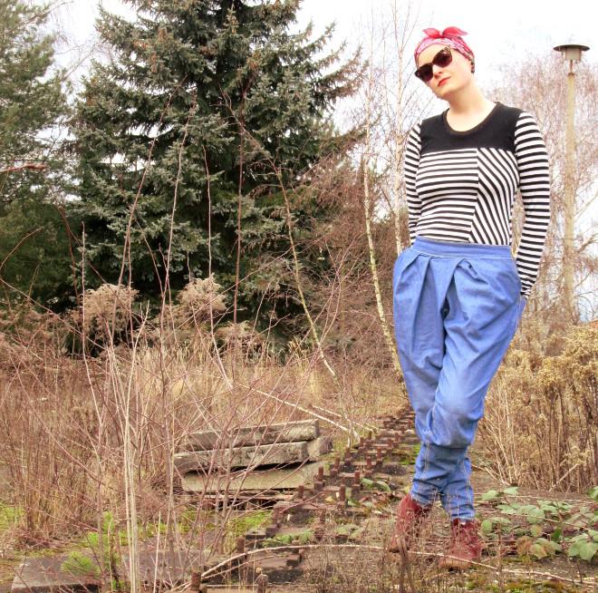 Jeans mit genialer Linienführung von Anne von partywoods