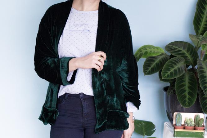 Tokyo Jacket Pattern Tessuti - Velvet Version by Tweed & Greet