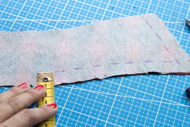Bluse Kragen markieren - Tweed & Greet