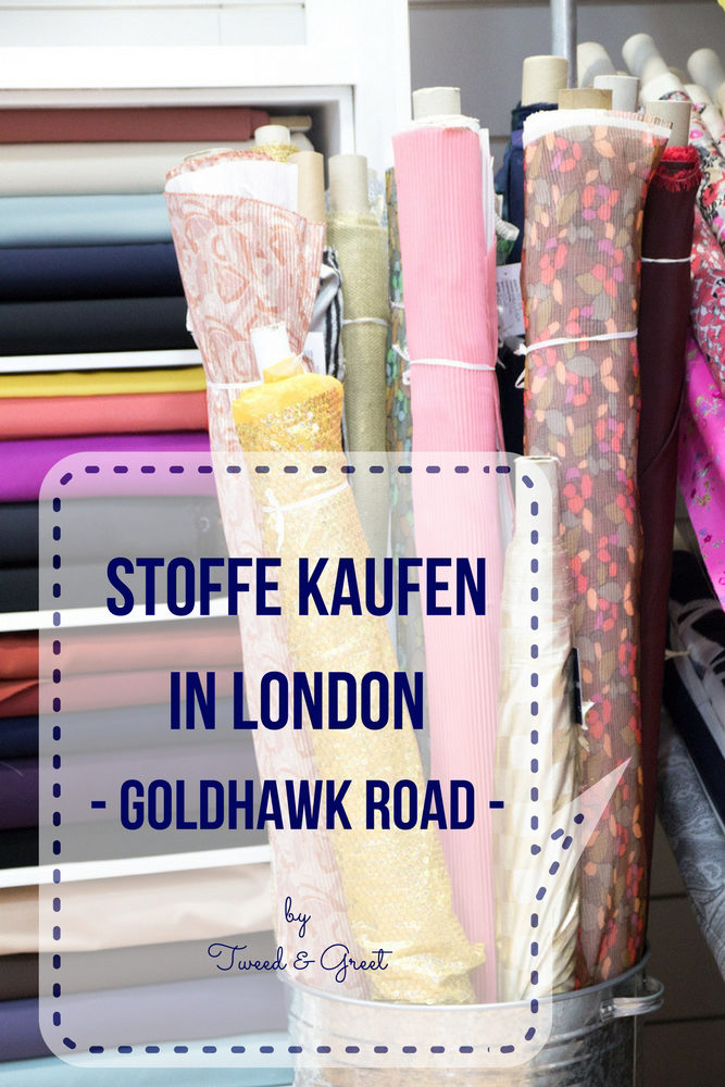 Stoffe kaufen in London - Goldhawk Road - Tweed & Greet