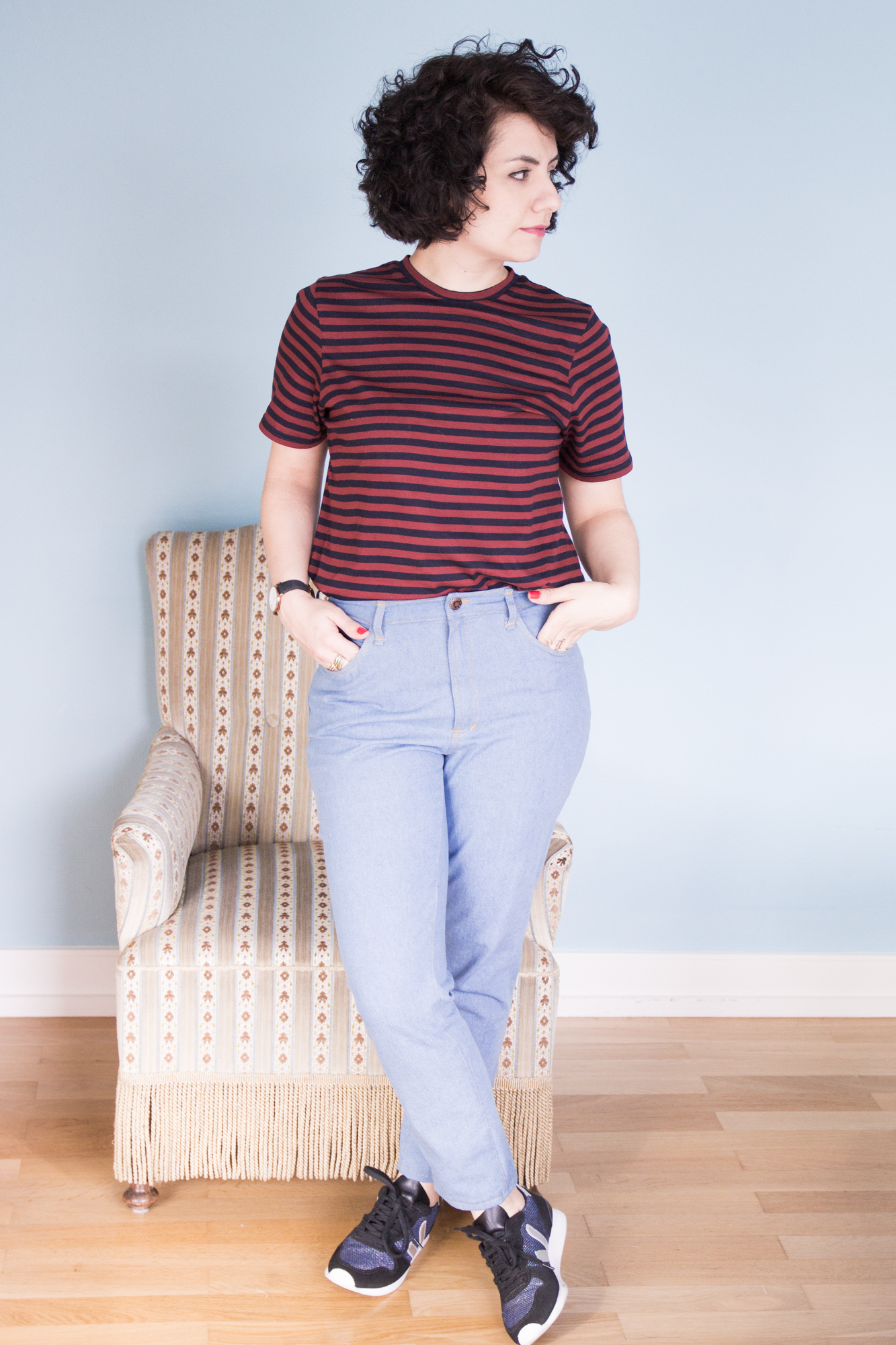 Ginger Jeans by Closet Case Patterns - Mom Style - Tweed & Greet