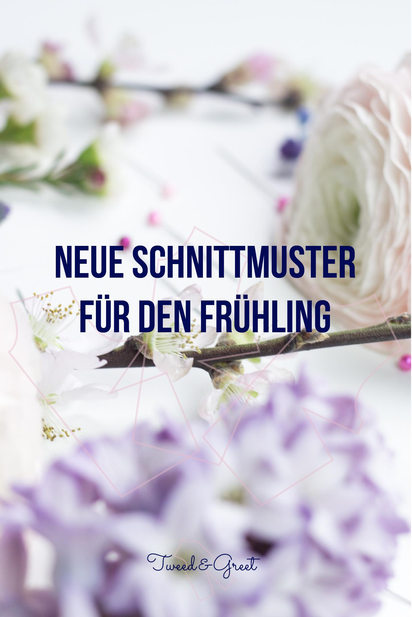 Neue Schnittmuster für die Frühlingsgarderobe - Ein ...