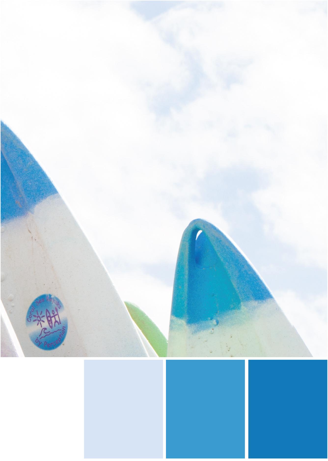 Farbkombinationen mit Weiß und Blau - Tweed & Greet