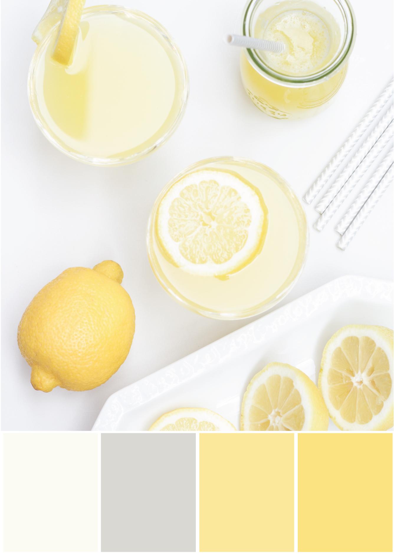Farbkombinationen mit Weiß, Gelb und Grau - Tweed & Greet