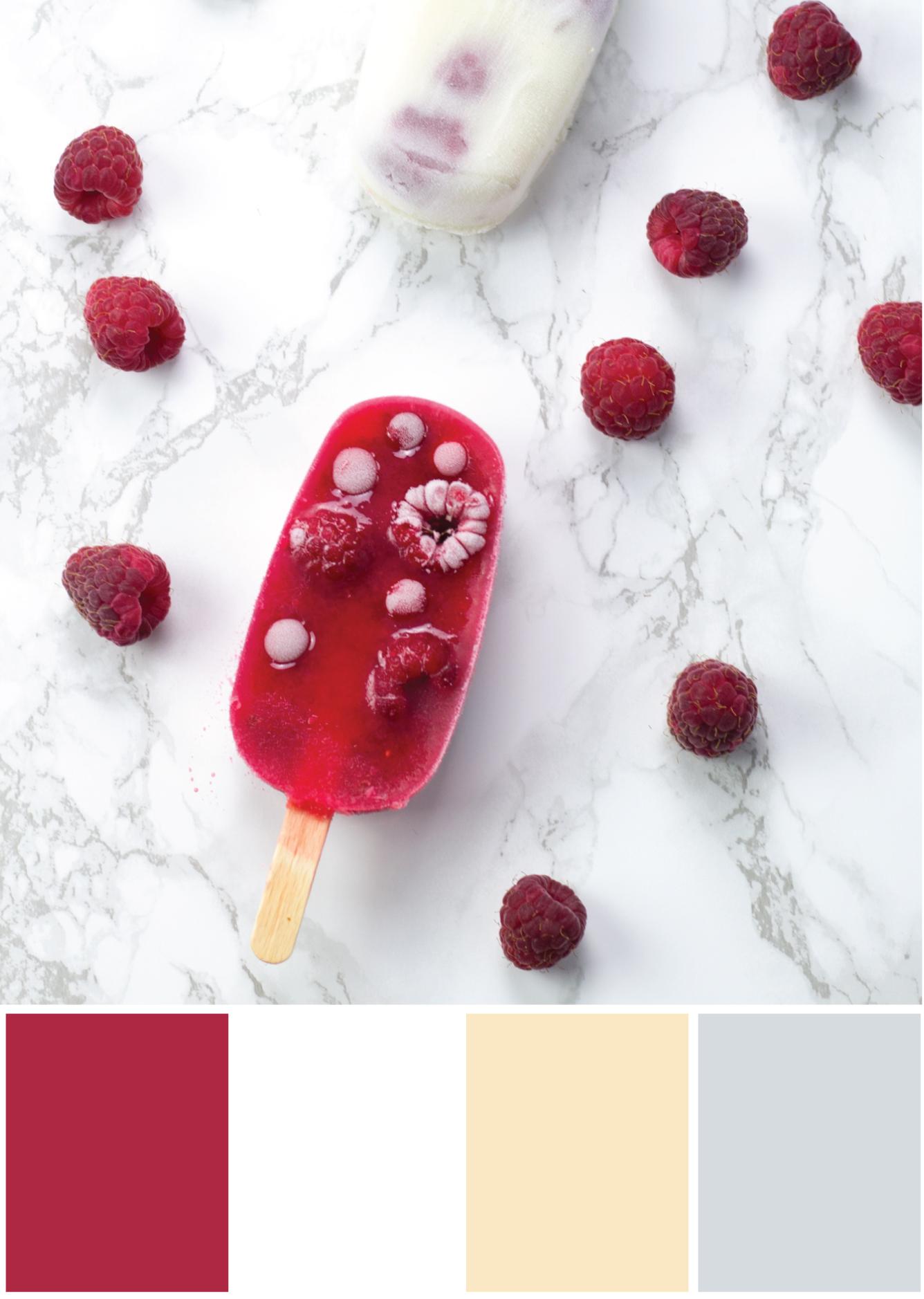 Farbkombination Rot Beige Grau - Tweed & Greet