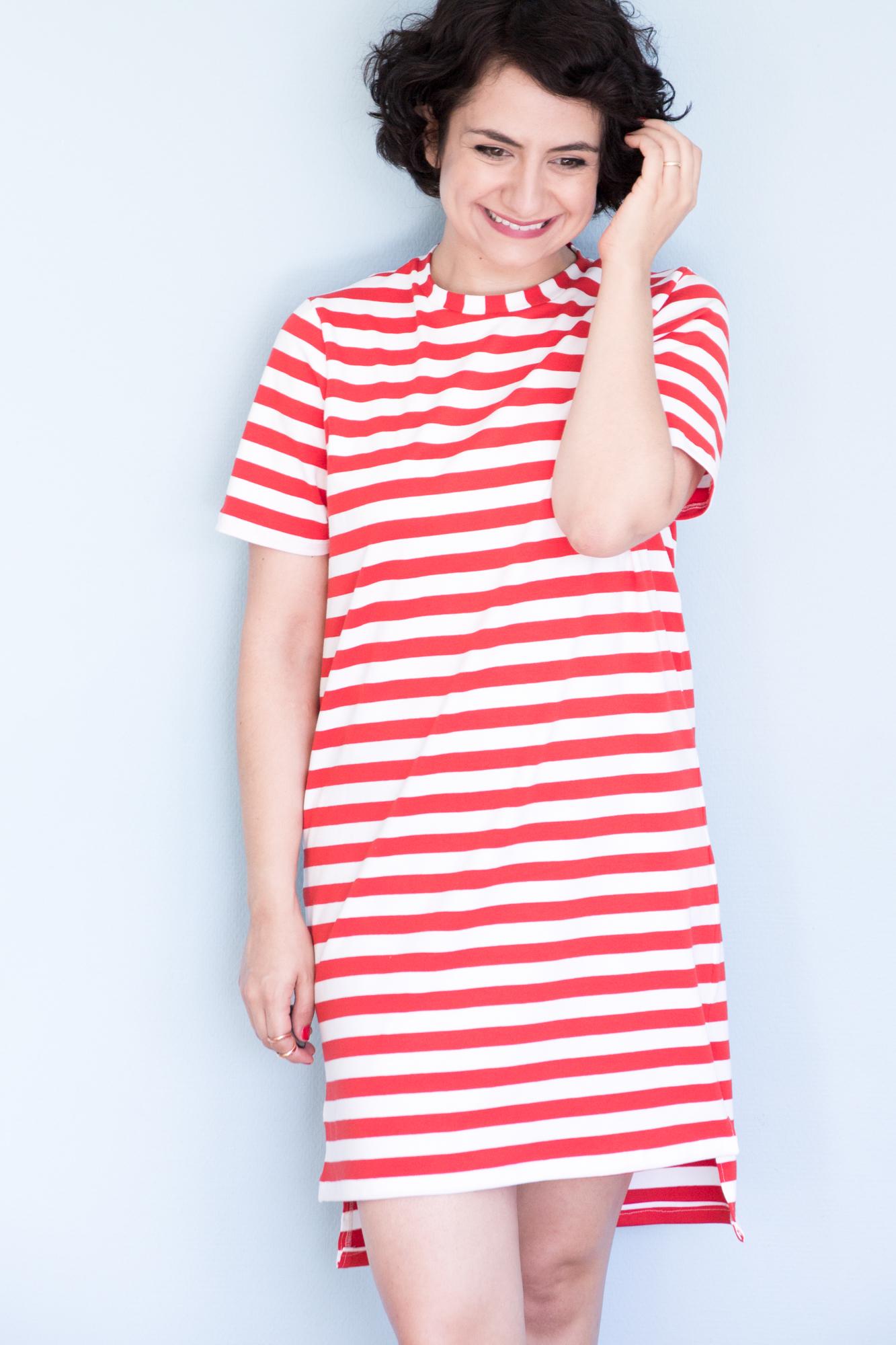 buy popular e0196 f75b6 Schnittmuster für ein Shirtkleid - Jane vom Seamwork Magazine