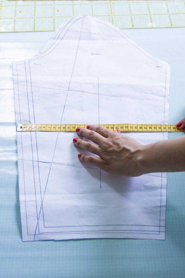 Schnittmuster verstehen: Eigene Maße am Schnittmuster kontrollieren