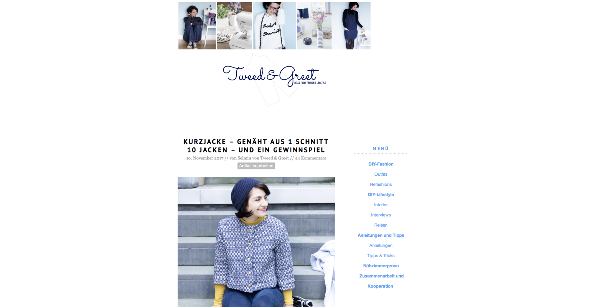 Blog Tweed & Greet