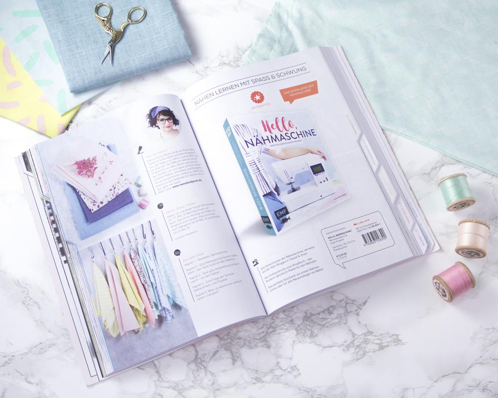 Hello Nähmaschine - Buch Nähen lernen für Nähanfänger - Tweed & Greet