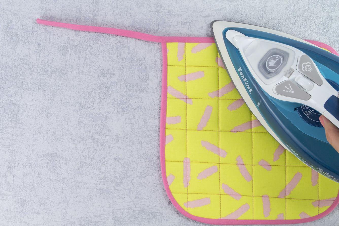 Stylische Topfuntersetzer nähen - kostenloses Schnittmuster und Nähanleitung Tweed & Greet