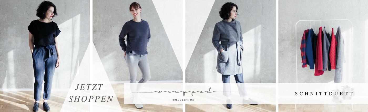 Schnittduett - Wrapped Collection - Moderne Schnittmuster für Frauen - zum Selbernähen