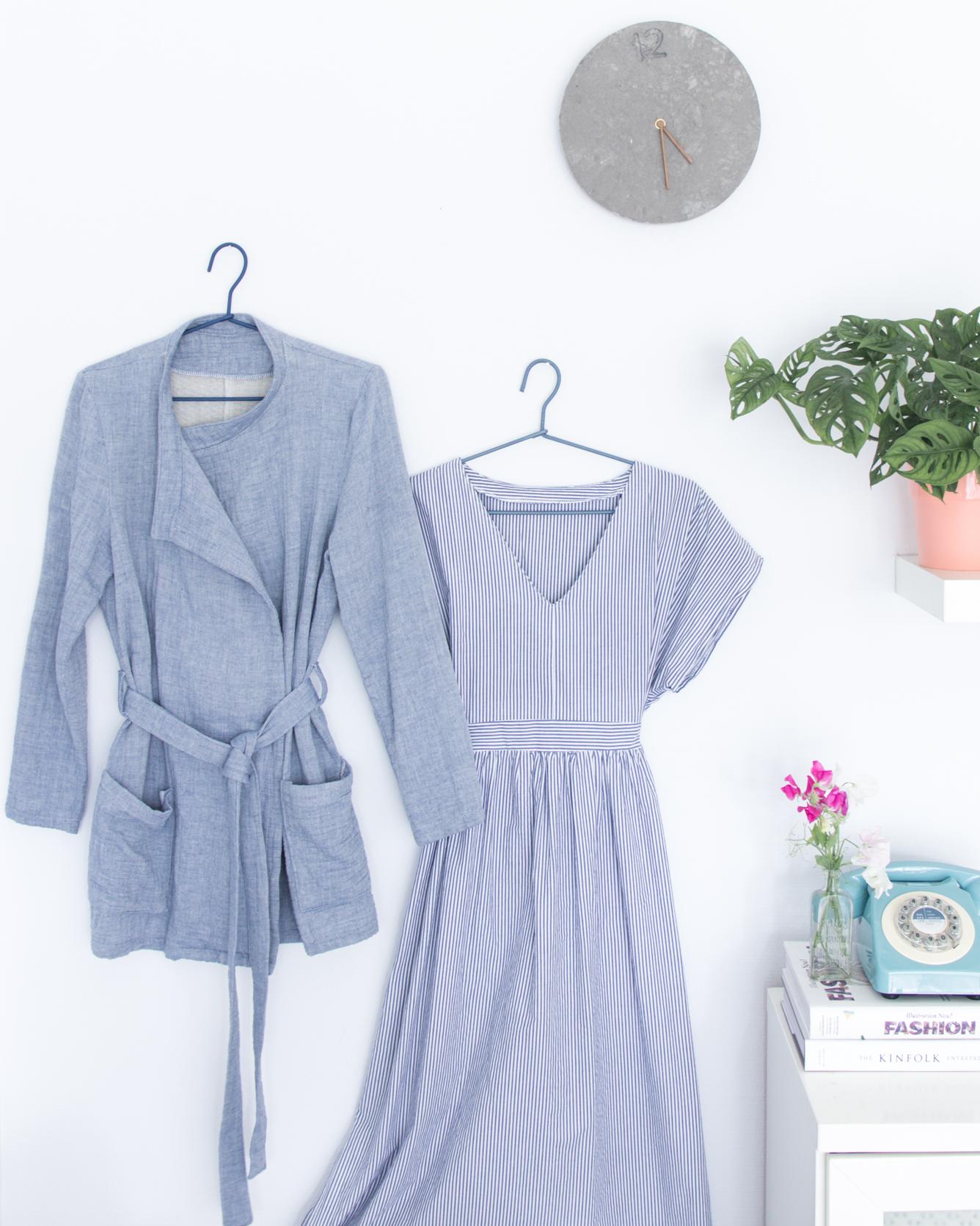 Selbstgenähte Kleidung richtig pflegen - Tweed & Greet