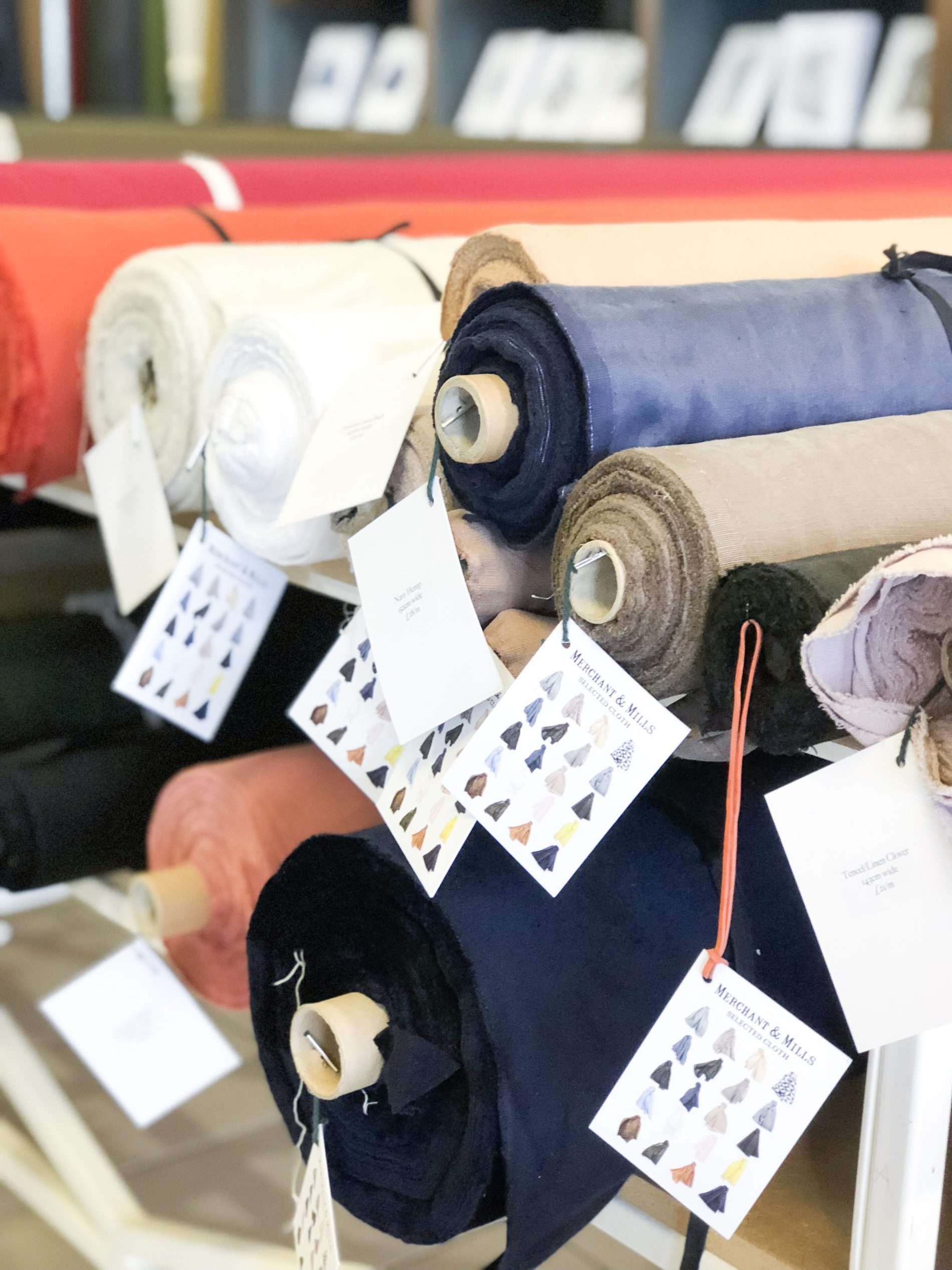 Ein Wochenende in Rye und Stoffekaufen bei Merchant & Mills