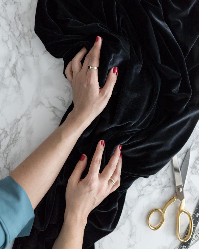 #12ausdemstoffregal - Strukturen und Texturen Stoff - Tweed & Greet