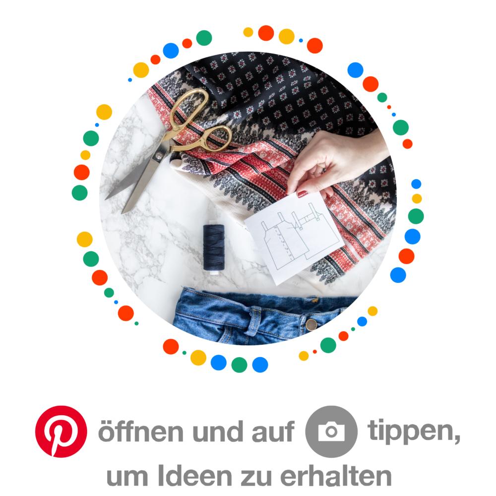 Pinterestboard Füreinander gemacht - #12ausdemstoffregal Challenge