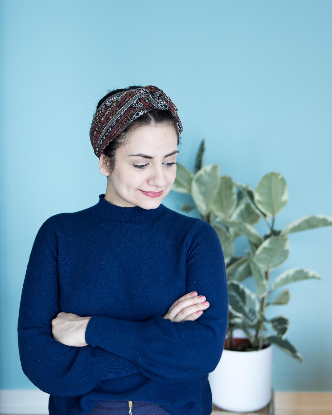 Fransenschal selbermachen - Tweed & Greet