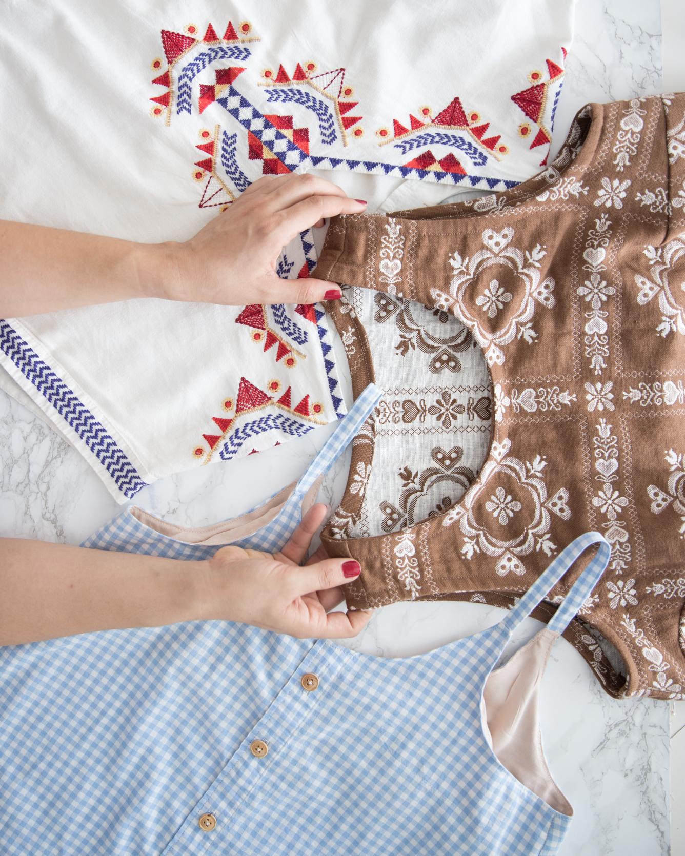Refashion Neue Oberteile aus alten Kleidungsstücken