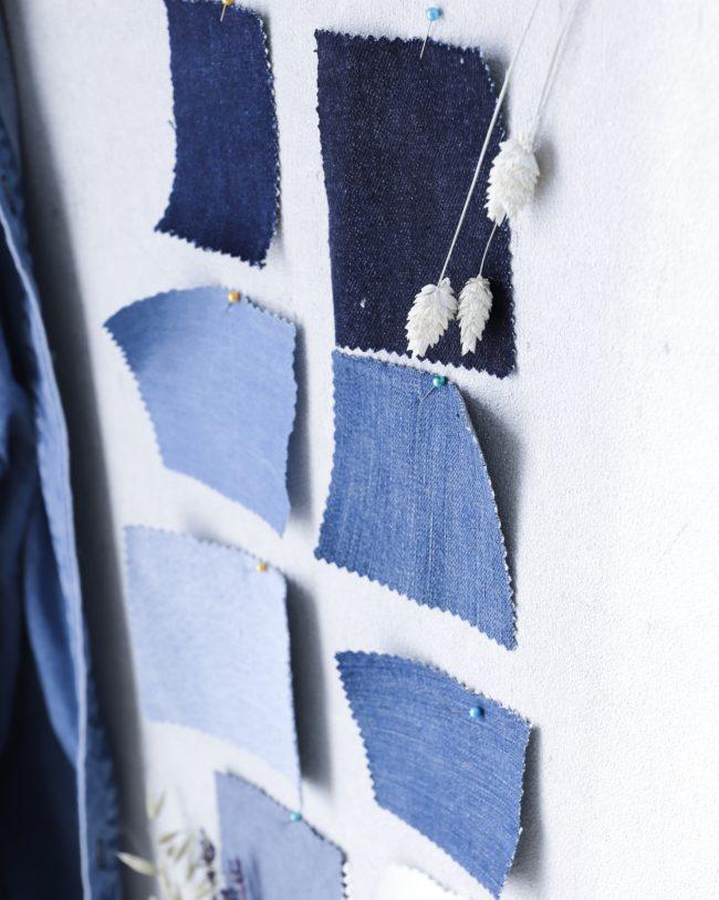 #12ausdemstoffregal - Jeansstoff im Oktober