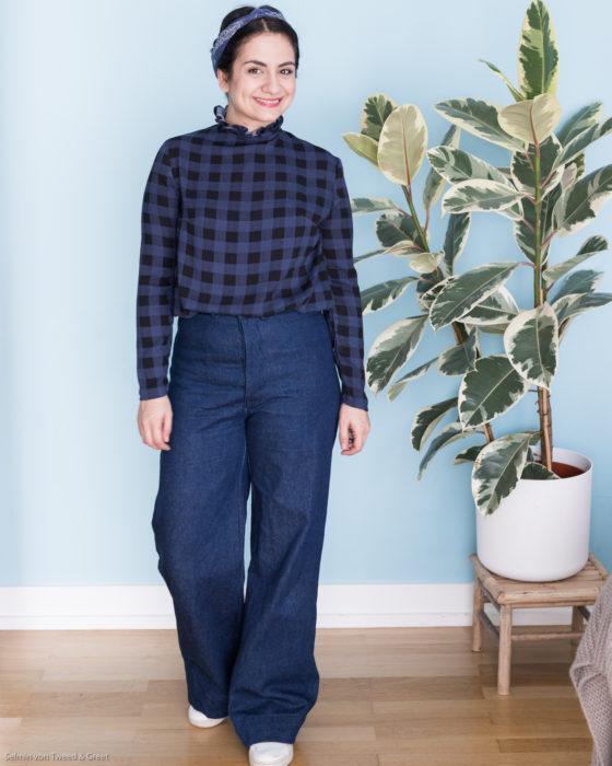Persephone Pants Anna Allen Clothing - Tweed & Greet