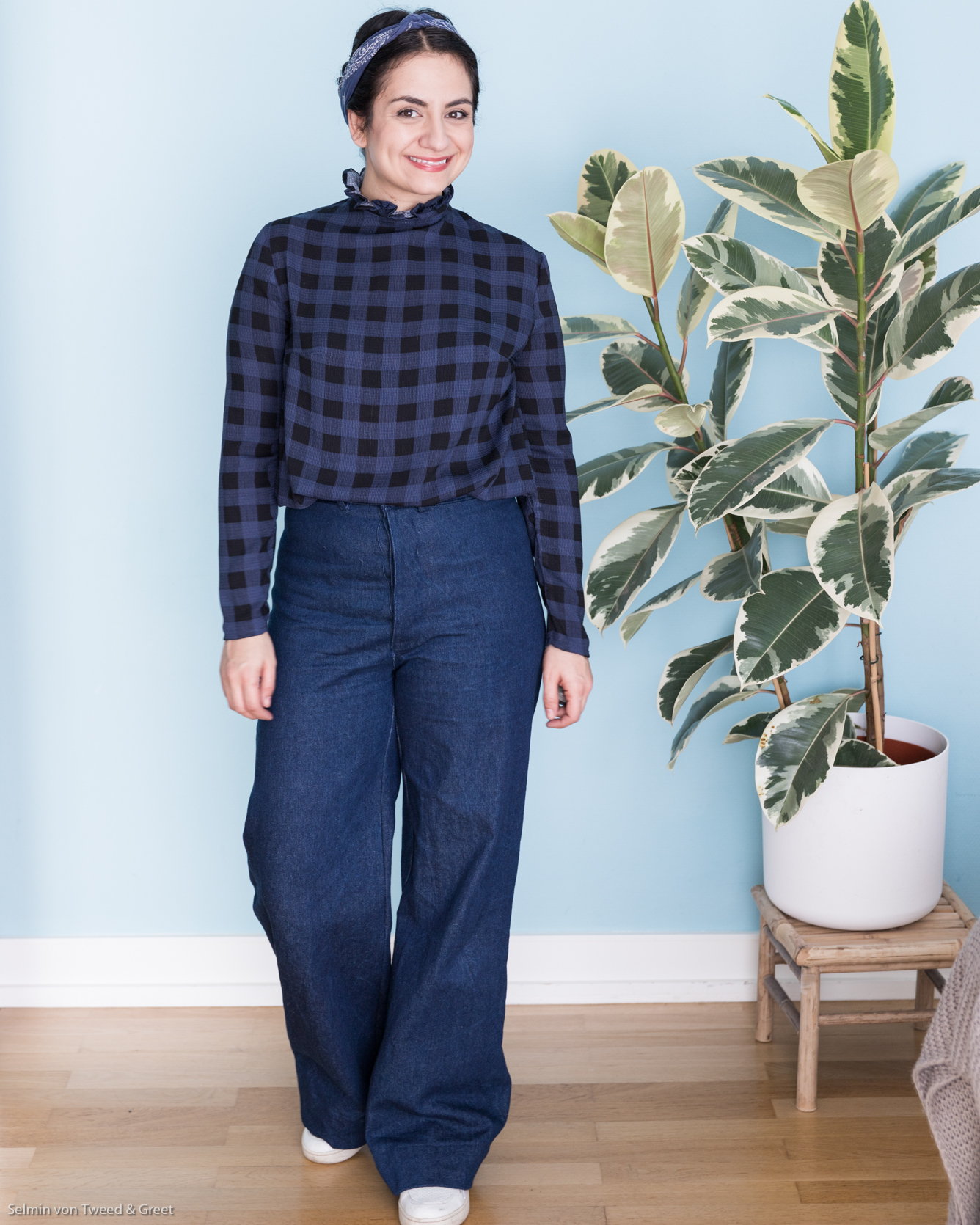 Persephone Pants Anna Allen Clothing - Tweed & Greet