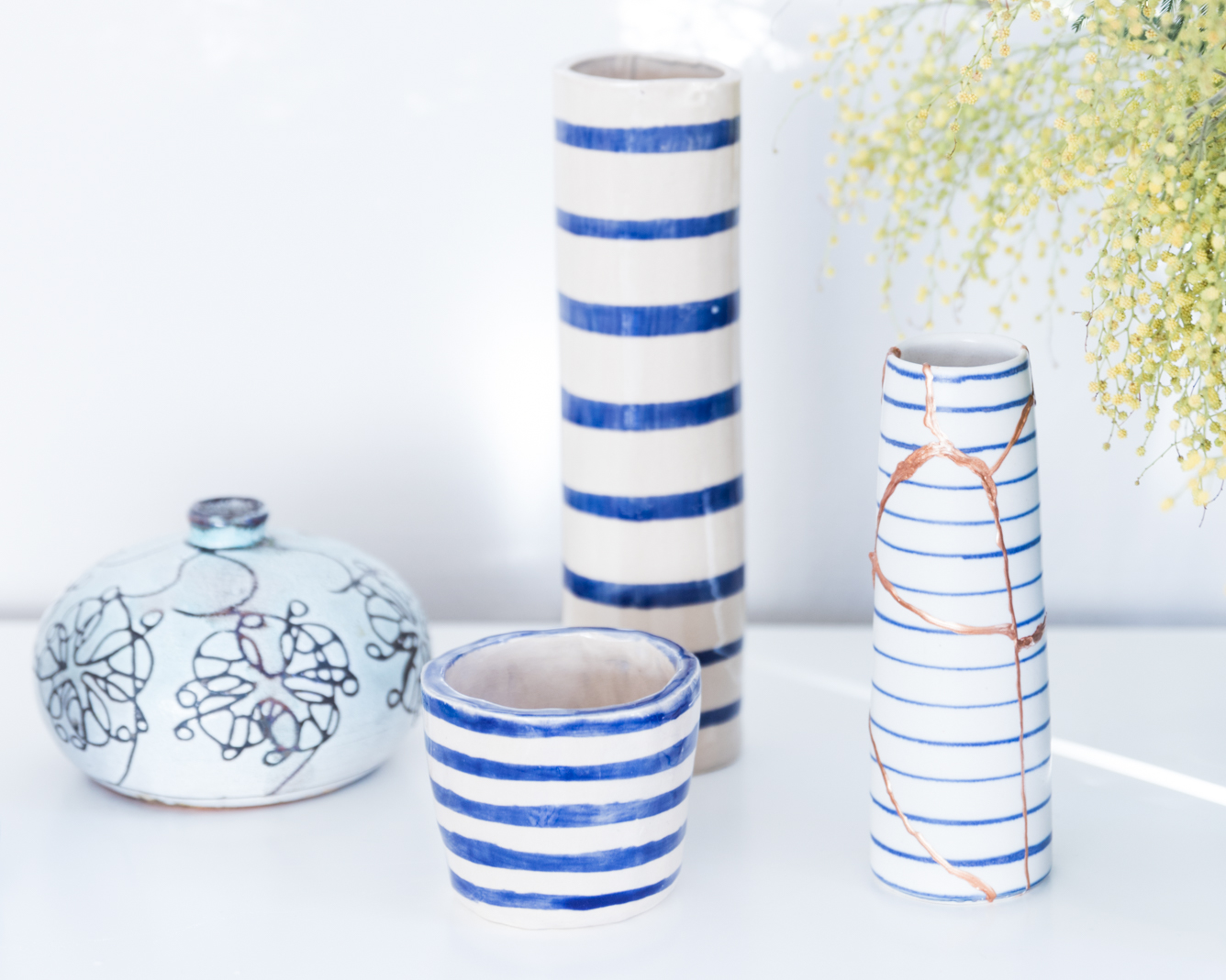 Reparieren statt wegwerfen - Zerbrochene Vase reparieren - Tweed & Greet
