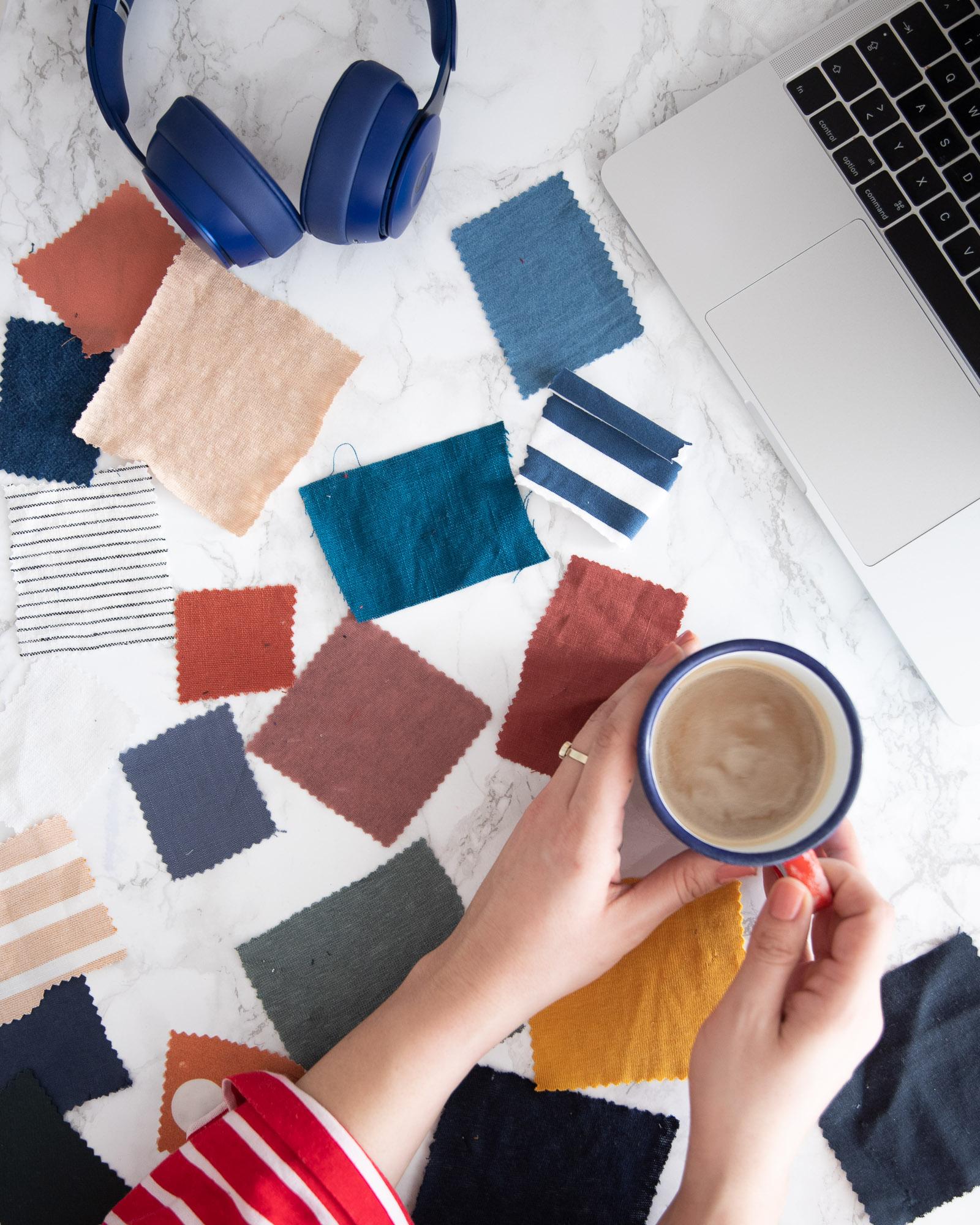 Stoffe online kaufen: Tipps und Tricks - Tweed & Greet