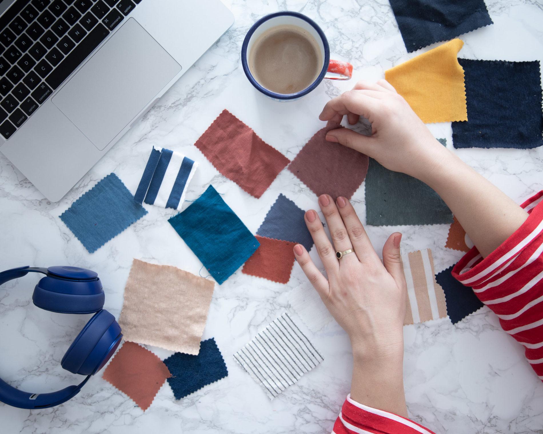 Stoffmuster bestellen - Ein Tipp gegen Fehlkäufe - Tweed & Greet