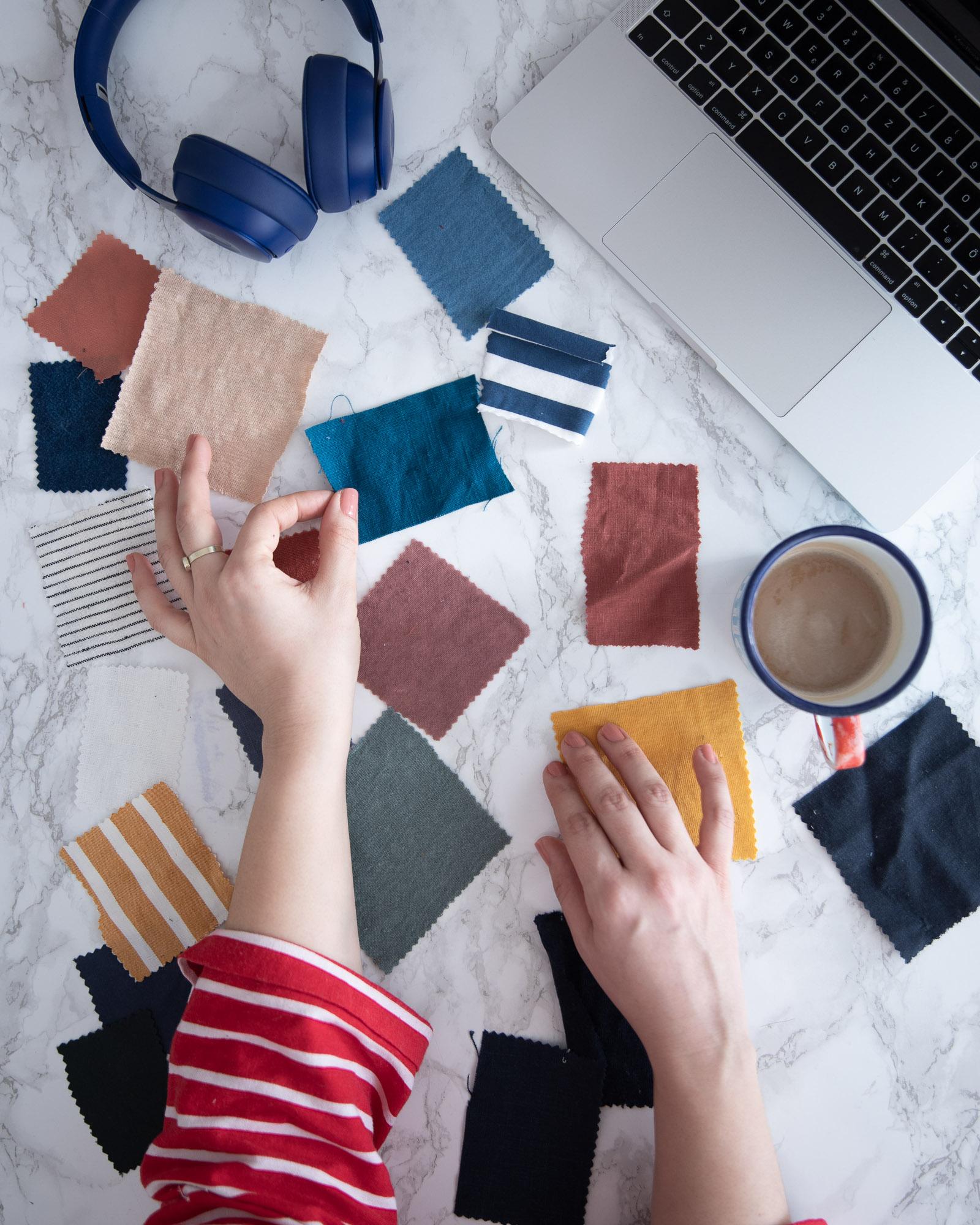 Online Stoff kaufen: Tipps und Tricks - Tweed & Greet